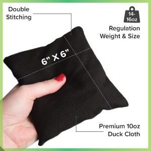 Play Platoon Cornhole Bag - Weather Resistant - 8 Pack