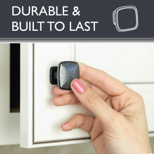 Ilyapa Cabinet Knobs - Square - Durable - Built to last