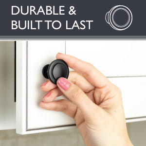 Ilyapa Cabinet Knobs - Round - Hardware - Durable - Built to Last