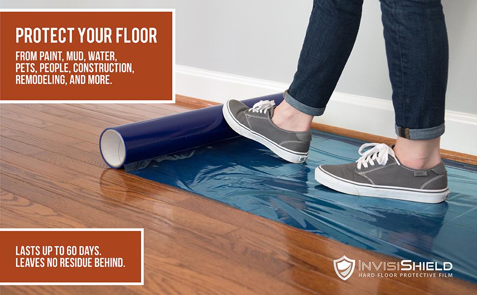 Invisishield Hardwood Floor Protector Film 24 Inch X 200