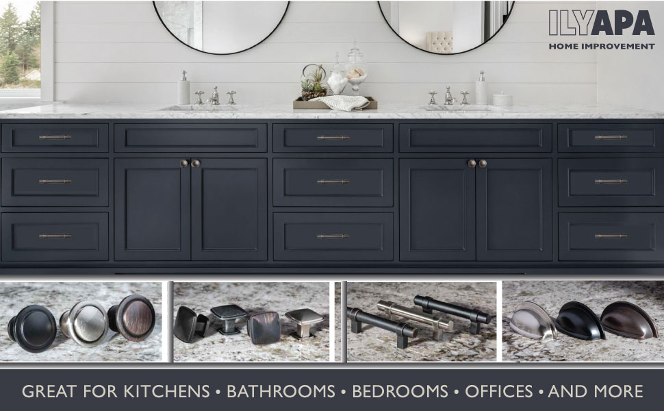 Ilyapa Home Improvement - Hardware - Knobs - Cabinet Pulls - Remodel