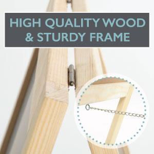 Ilyapa Menu Board - Wooden A-Frame - 20x40