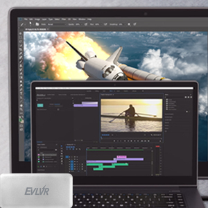 Patriot EVLVR Thunderbolt 3 External SSD portable high-speed transfer content creation storage