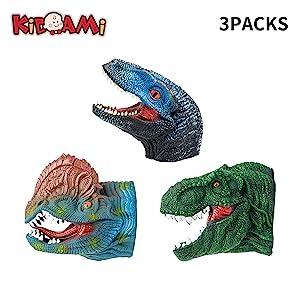 Dinosaur Hand Puppets Set