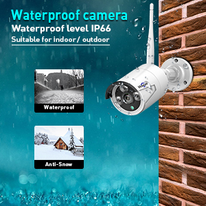 water  [8CH Expandable] Hiseeu All in one with 10.1″ Monitor Wireless Security Camera System,8ch Wireless Home Security Camera System,4pcs 1080P Indoor/Outdoor Security Camera,Remote View,1TB Hard Drive 15faa8f6 de42 417e 9354 c2ec86885b3e