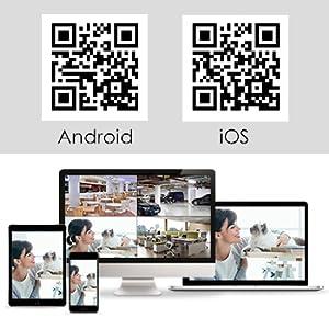 1212  【5MP 8Channel】Hiseeu Security Camera System,H.265+ 8CH DVR + 4Pcs AHD Cameras,Global Phone&PC Remote,Human Detect Alarm,98Ft Night Vision,IP66 Waterproof,24/7 Recording,Easy Setup,Plug & Play,1TB HDD 4a7aab30 1753 4b77 b930 c2c968d008b0