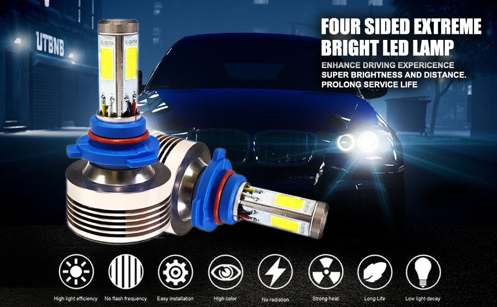 9005 led headlight bulbs