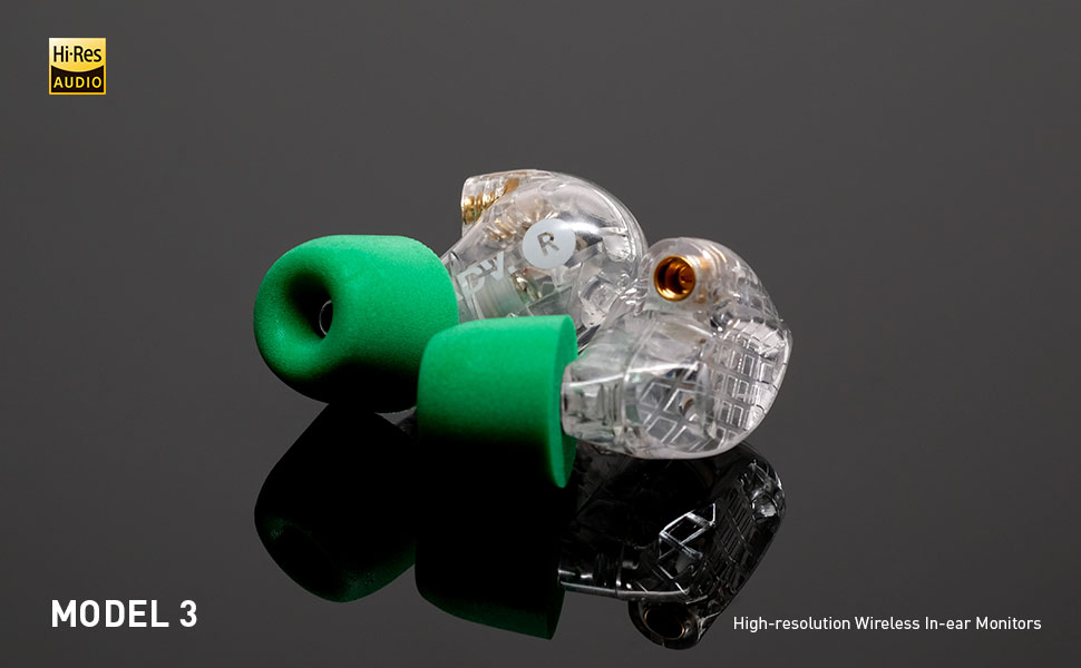 ADVANCED Model 3 High-Resolution Wireless In-Ear Monitors