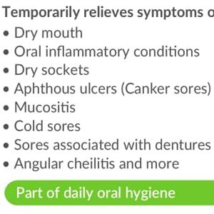 gel natural mint wisdom teeth sensitive xylitol healthy restoring advanced hygienist anticavity ora