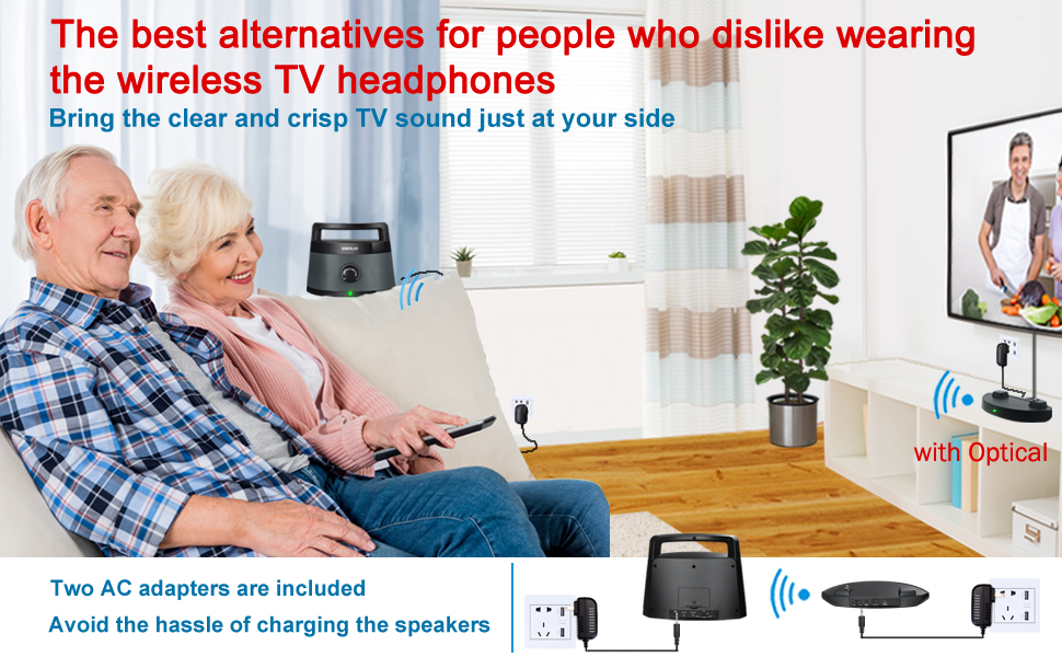 portable wireless tv speaker, easy to carry