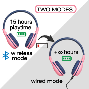 wireless and wired mode