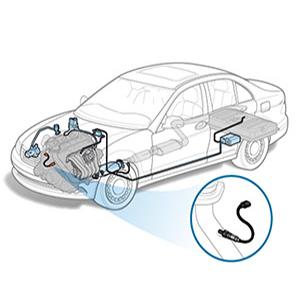 Kwiksen Air Fuel Ratio 234-9023 Oxygen Sensor Upstream Left Sensor 1 Bank 1  Replacement for Toyota RAV4 2 0L 2001 2002 2003