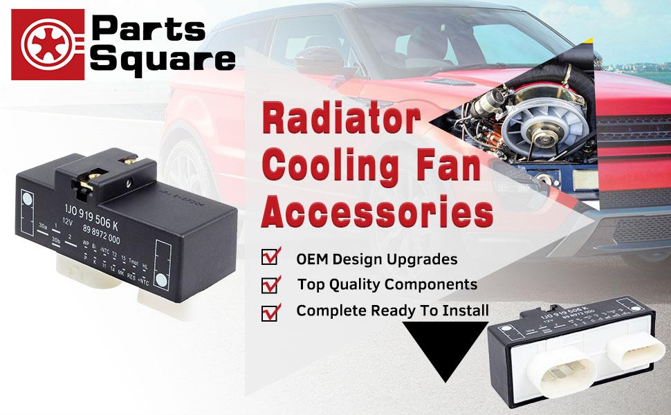 Amazon.com: PartsSquare 1J0919506K Cooling Fan Control Unit Module on