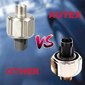 AUTEX 2pcs Knock Sensor Engine Ignition Detonation Sensor 89615-12040 KS81  8961512040 compatible with Toyota Avalon Camry Celica Highlander Sienna