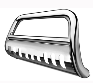 PartsTrend Grille Guard Compatible with Ford F250//350//450//550hd 99-04 Excursion SS Bull Bar Front Bumper