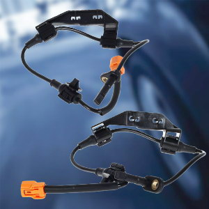 MOSTPLUS 57475S9A013 4Pcs ABS Wheel Speed Sensor Rear Front Compatible for 2002 2003 2004 2005 2006 Honda CRV Sprots Utility 4-Door L4 2.4L