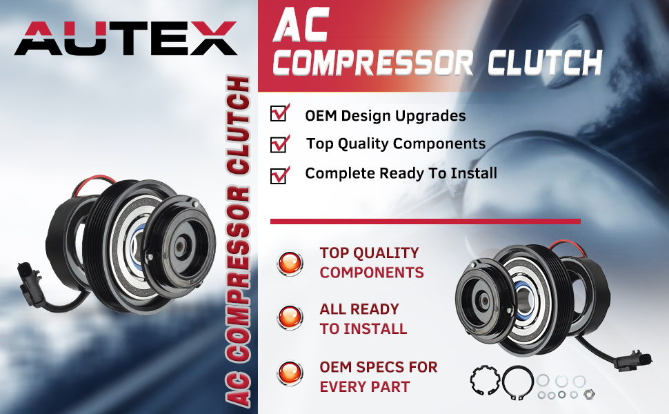 AUTEX is one of the largest AC Compressor & Clutch manufacturer in the auto parts aftermarket.