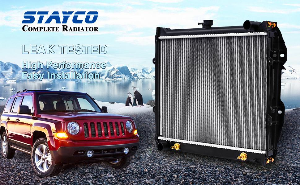 Amazon.com: STAYCO - Repuesto de radiador de refrigeración ...