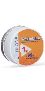 Yohimbine HCl Powder 98% Pure - 1 Grams