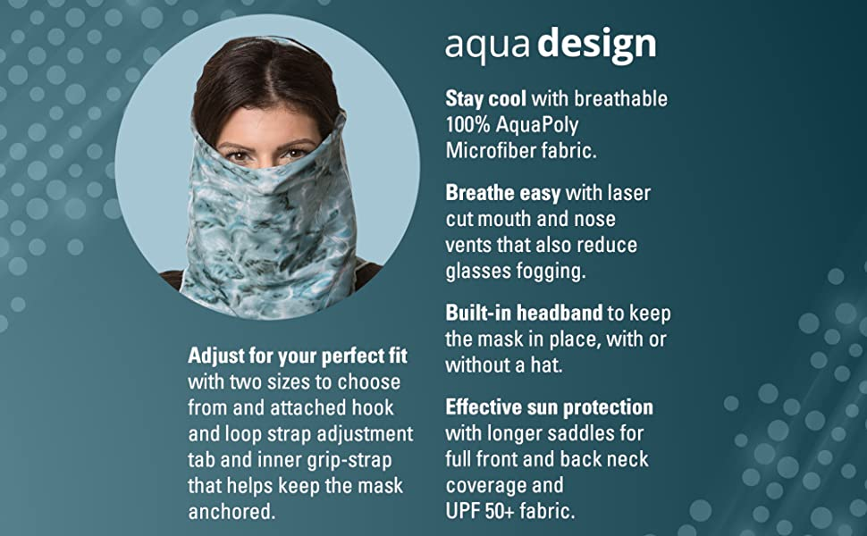 Amazon.com : Aqua Design Sun Proctection for Women Size Adjustable ...