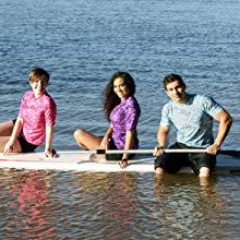 rowing activewear long sleeve velcro pocket sports de plein air canoë-kayak kite paddle body board