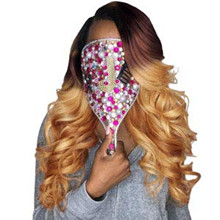 Natural color human hair bundles can be dyed bleached curled and restyled