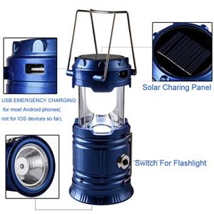 3合1可充电太阳能超亮Led野营灯
