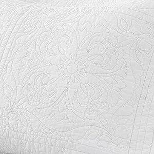 floral cotton pillow shams