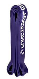 #4 Heavy Duty Purple Exercise Resistance Workout Band