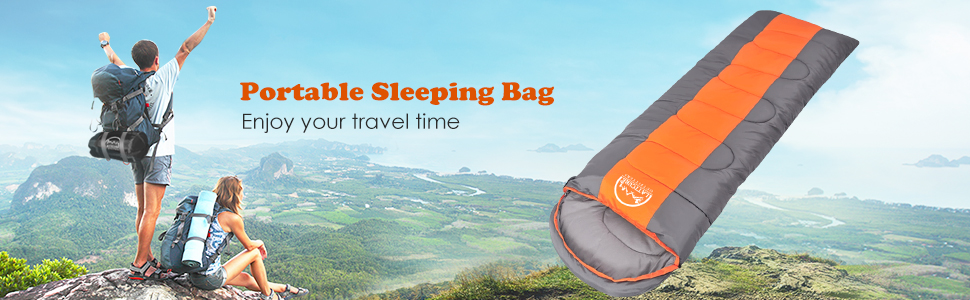 hiking sleeping bag