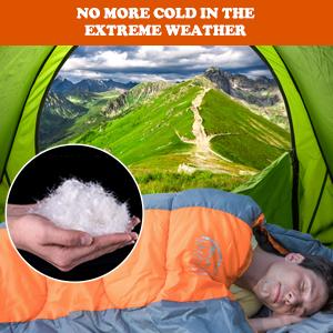 sleeping bag outdoor camping