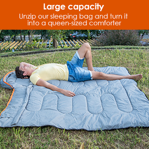 sleeping bag outdoor camping
