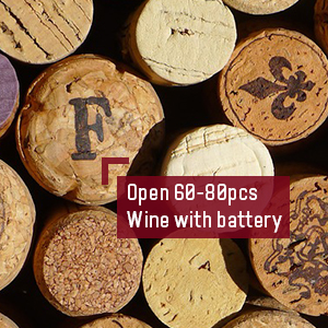 Open 60-80pcs wine