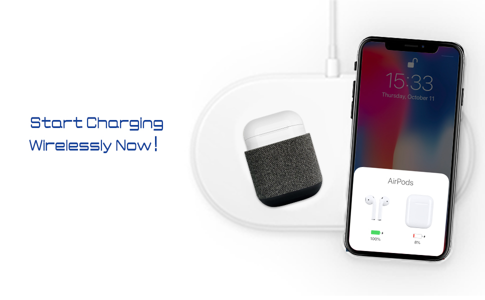 online store d3638 04197 Uervoton AirPods Case Cover Wireless Charging Case Accessories Protective  Case for AirPods Wireless Charging, Compatible Any Qi Standard Wireless ...
