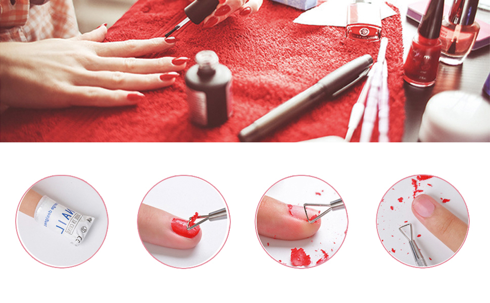 ZIZZON Cuticle Pusher How to Use
