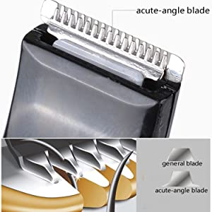 Safe and sharp blade design