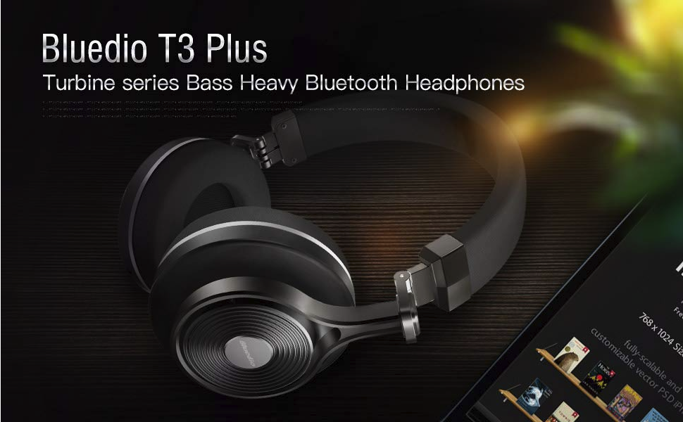 Amazon.com: Bluedio T3 Plus (Turbine 3rd) Wireless