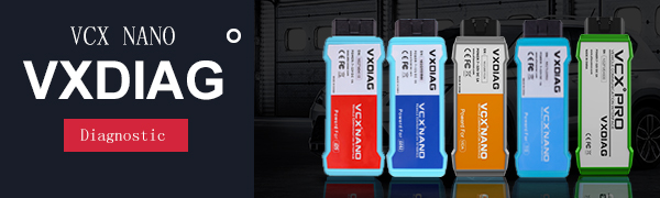 VXDIAG Nano for Ford/Mazda IDS Engine Code Reader Diagnostic Tool,1 Pack