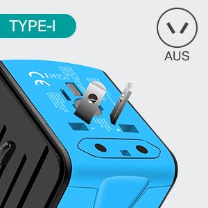 travel adapter-I