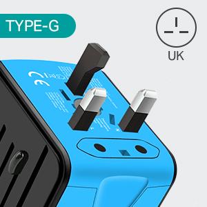 travel adapter-G