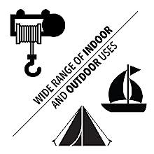 - Lightweight 12 Strand Dyneema Cord DIY Hammocks Arborists Boating SGT KNOTS Dyneema Rope 2.5mm 25 ft - 600 ft - 7 Colors Hollow Braid Rope 7//64 inch Camping for Whoopie Slings