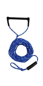Extreme Max BoatTector Solid Braid MFP Anchor Line w//Snap Hook 3//8 x 50/',Blue