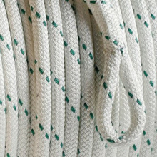 double braid rope close up