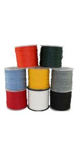 Hollow Braid Polypropylene Rope (3/8 inch) - SGT KNOTS