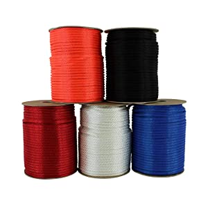 SGT KNOTS Solid Braid Nylon Rope