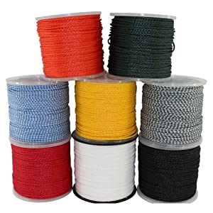 SGT KNOTS hollow braid polypro rope group