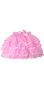 girls pink tutu skirt