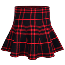 girls plaid skirt