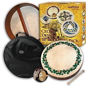 waltons irish music bodhran traditional celtic folk