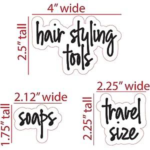 bathroom script labels
